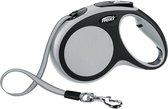 Flexi New Comfort Tape - Hondenriem - Grijs/Zwart - M - 5 m - (<25 kg)