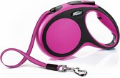 Flexi New Comfort Tape - Hondenriem - Roze - M - 5 m