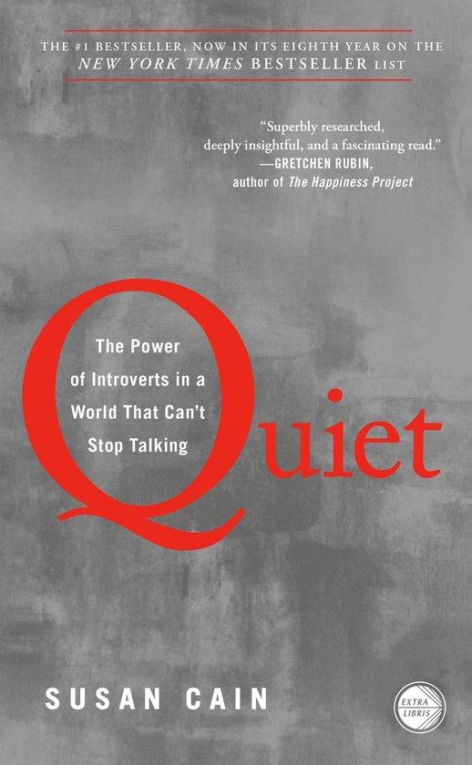 Boek cover Quiet van Susan Cain (Paperback)