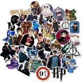 Verwonderlijk bol.com | Harry Potter stickers - Mix met 50 afbeeldingen - Voor MY-37