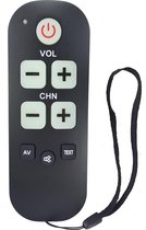 Senioren afstandsbediening voor ALLE Samsung televisie's