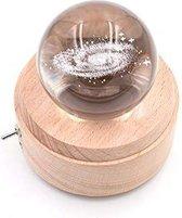 mm – Glazen Bol – Verlichte Melkweg – Draadloze lamp – Design Lamp