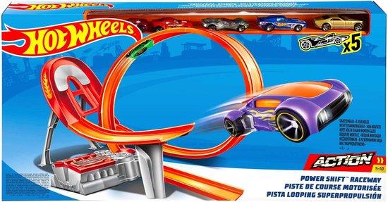 Afbeelding van Hot Wheels Action Powershift Raceway inclusief 5 Autos - Racebaan