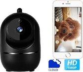 Hardloper - Huisdiercamera zwart - Hondencamera - 2-Weg Audio - WiFi - Beweegdetectie - Nachtvisie - Draadloos - Hondencamera Beelden Op Telefoon- Hondencamera Met App - Smart Camera - Opslag In Cloud Of SD -IP Camera –