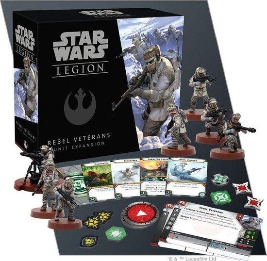 Afbeelding van het spel Star Wars Legion: Rebel Veterans Unit Expansion