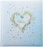 Goldbuch Blue Heart baby album 30x31