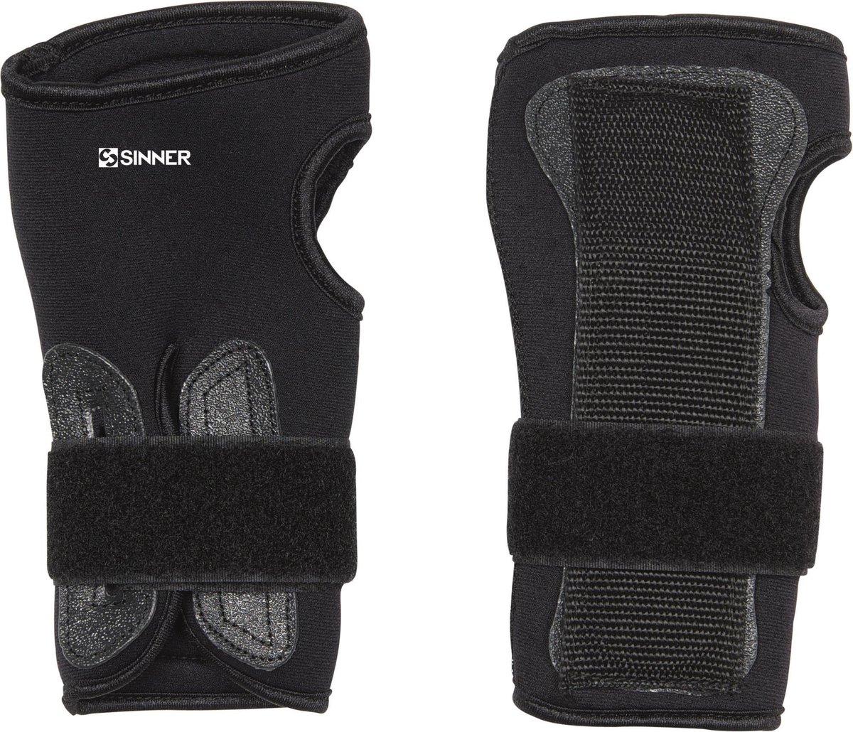 Sinner Wrist Guard (Pair) Unisex Polsbescherming - Zwart - XL