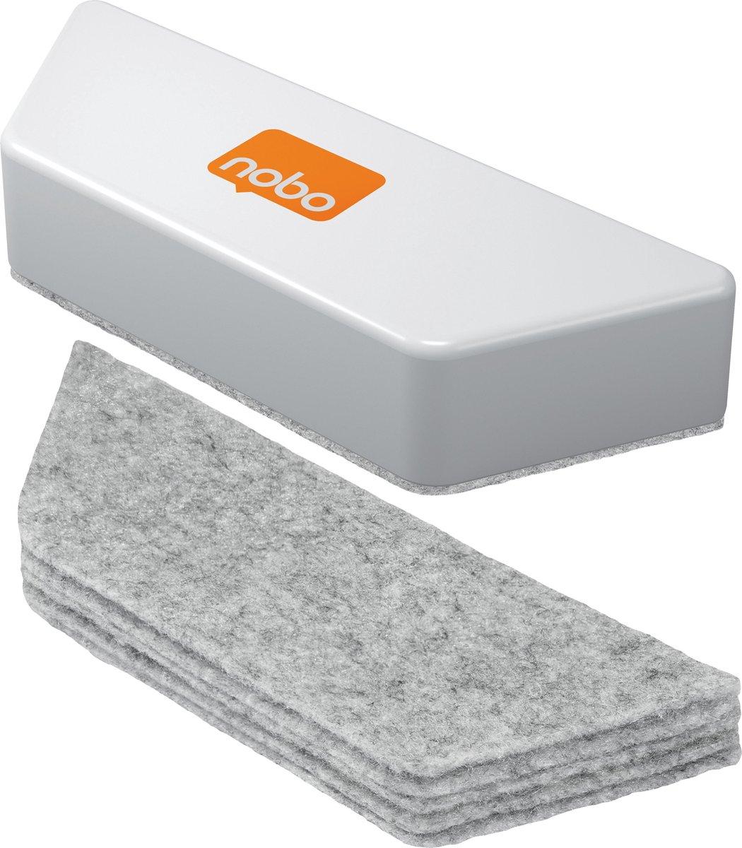 Nobo Whiteboard Eraser Refills (10)
