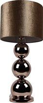 Bollamp - Brede Bollen - Brons - Tafellamp - 3 Bollen