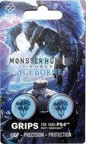 Monstert Hunter: Iceborn thumb grips - PS4 controller - Blauw