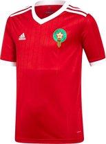 adidas Sportshirt - Maat 140  - Unisex - rood/wit