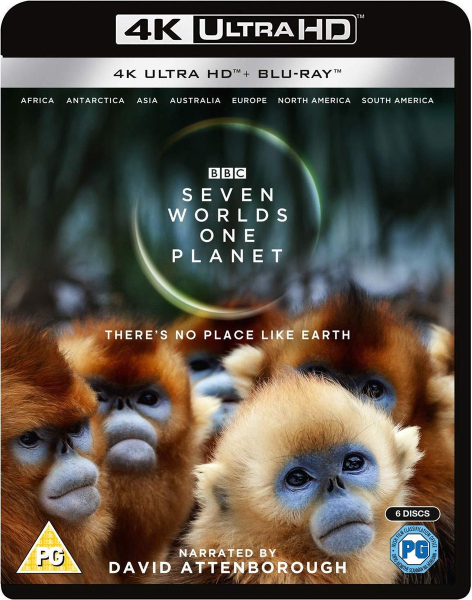Seven Worlds, One Planet (4K Ultra HD Blu-ray)-