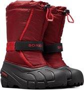 Sorel Snowboots - Maat 34 - Unisex - rood/zwart