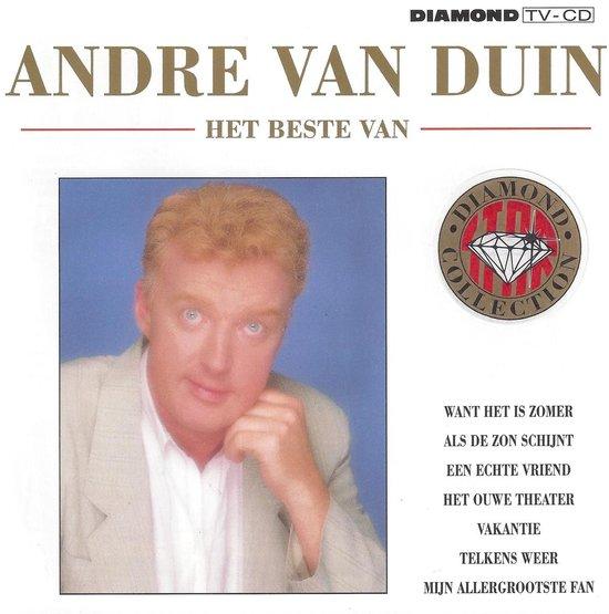 CD cover van Het Beste van André van Duin (Diamond Collection) van Andre Van Duin