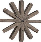 Umbra - Klok - Wandklok Ribbonwood - hout