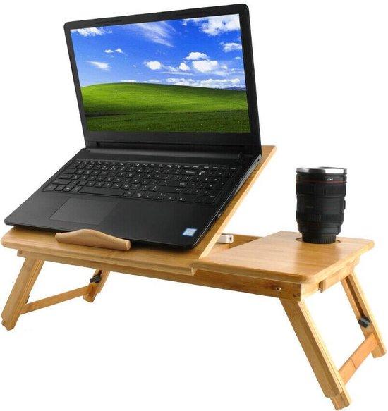 Verrassend bol.com   Verstelbare laptoptafel - laptopstandaard - XL - Hout - 17'' GL-19