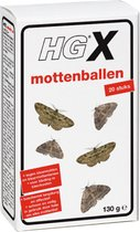 HG mottenballen 0,13kg