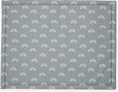 Jollein Boxkleed 75x95cm Rainbow - grey