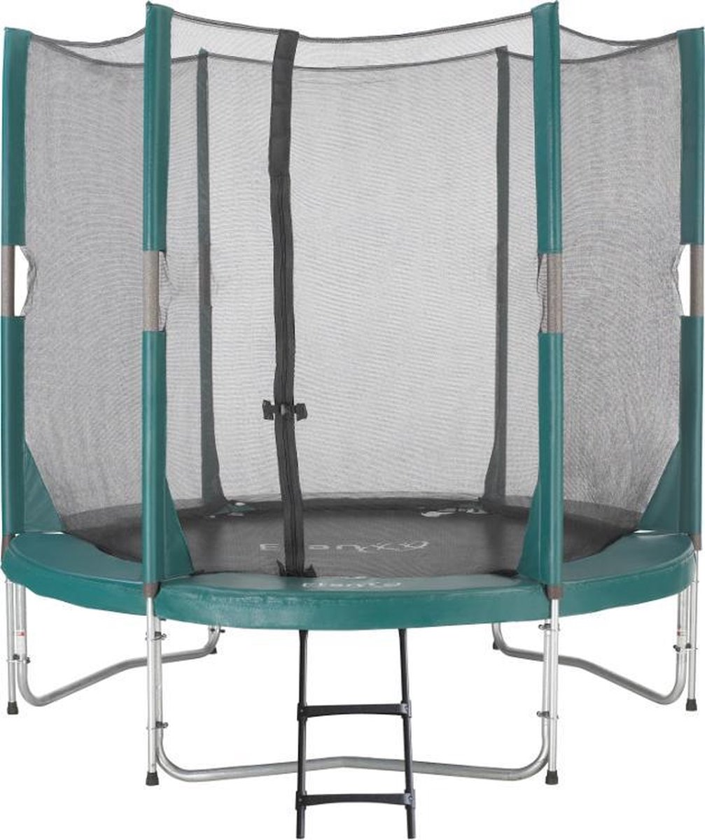 Etan Hi-Flyer 10 Combi Trampoline set - Ø 305 cm - incl. Veiligheidsnet - Uv-bestendig Randkussen - Groen - Rond