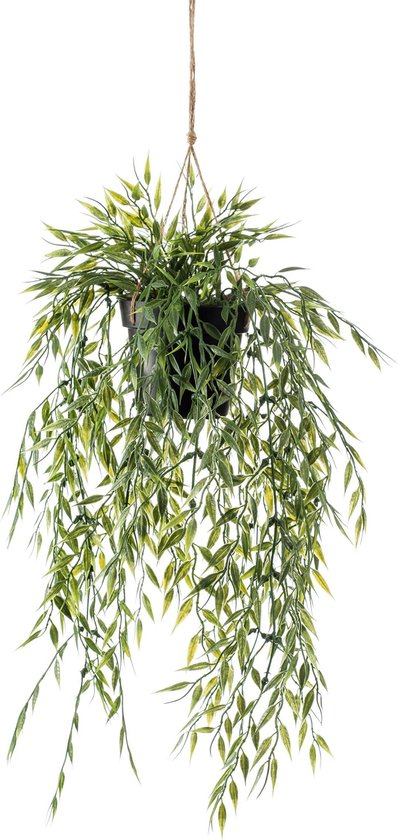 Bamboo kunst hangplant