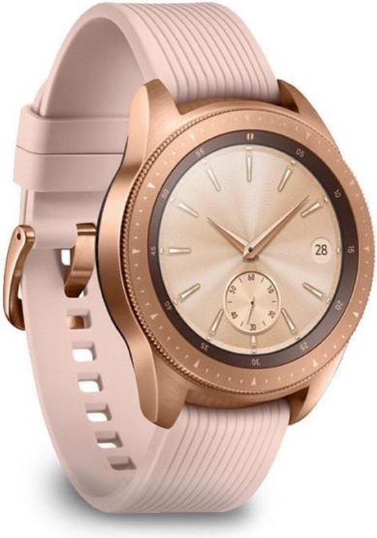 Samsung Galaxy Watch - Smartwatch dames - LTE - 42mm - Roségoud