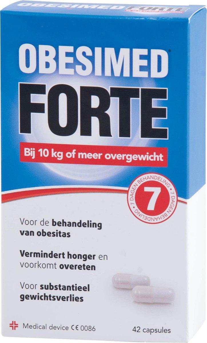 Obesimed Forte - 42 capsules - Voedingssupplement