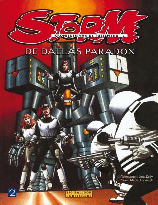 Afbeelding van Storm De kronieken van de Tussentijd 2 - De Dallas Paradox