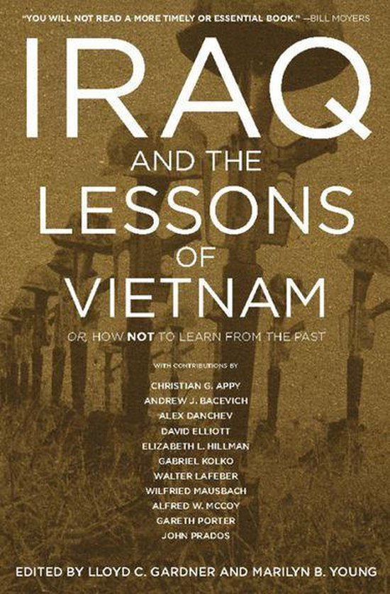 Boek cover Iraq and the Lessons of Vietnam van Christian G. Appy (Onbekend)
