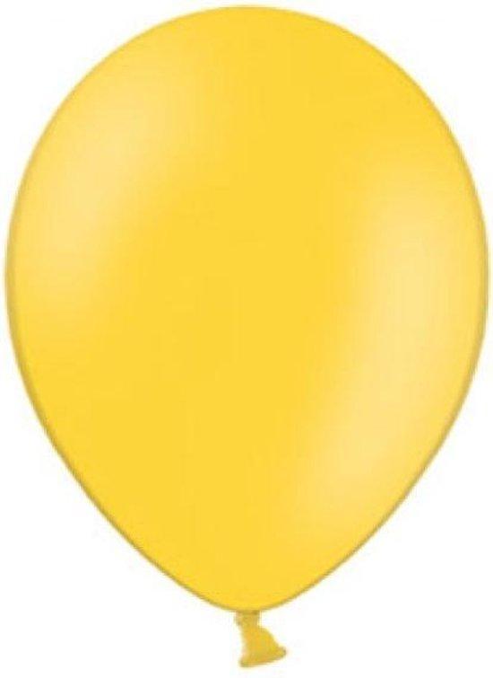Belbal - Ballonnen - Helder geel - 30cm. - 100st.