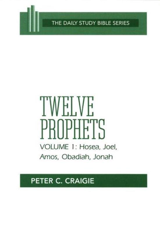 Boek cover Twelve Prophets, Volume 1, Revised Edition van Peter C. Craigie (Paperback)