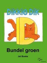 Boek cover Dikkie Dik - Bundel groen van Jet Boeke