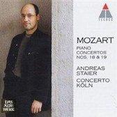 Mozart: Piano Concertos nos 18 & 19 / Staier, Concerto Koln
