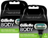 Gillette Scheermesjes Body 8 mesjes (2x4)