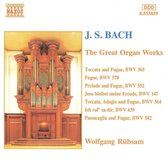 Bach: The Great Organ Works / Wolfgang Rubsam, Bertalan Hock
