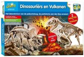 Wetenschapsdoos Prof Q&A Dinosauriërs En Vulkanen