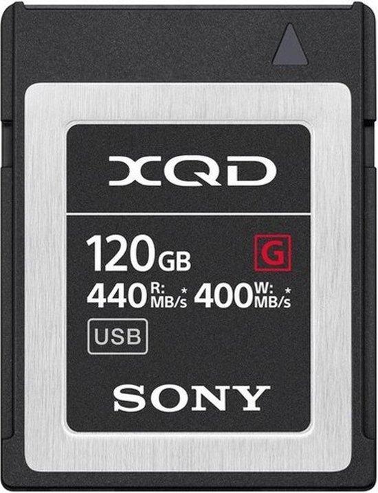 Sony QDG120F Flash-Speicherkarte (120 GB) flashgeheugen XQD