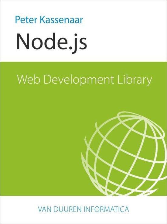 Web Development Library - NodeJS - Peter Kassenaar |