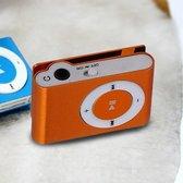 Mini clip MP3 speler - Oranje