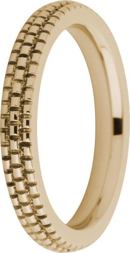 Melano friends sarah refined engraved ring - rosekleurig - dames - maat 56 - Melano