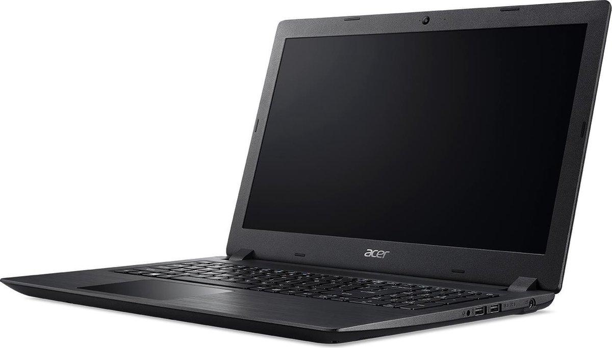 Acer Aspire A315-51-55SU Laptop 15.6 inch - 1920 x 1080 FullHD - Core i5 - 1128GB - Zwart