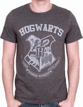 HARRY POTTER - T-Shirt Hogwarts - Grey (L)