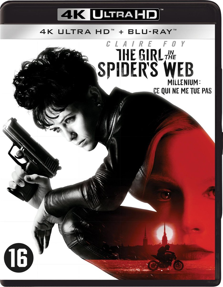 The Girl in the Spider's Web (4K Ultra HD Blu-ray)-