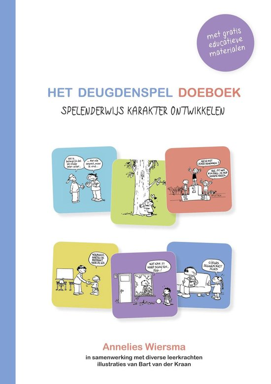 Het Deugdenspel Doeboek - Annelies Wiersma  