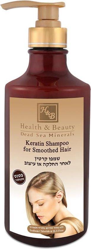 Keratine Shampoo - Parabeen-, SLS- en mineraal olievrij - 780 ml