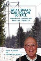 Omslag What Makes Dan Bollom So Tall?