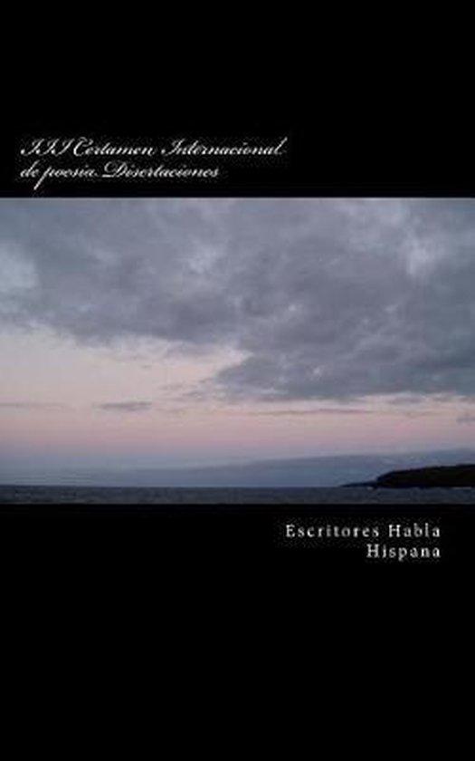 III Certamen Internacional de poesia Disertaciones