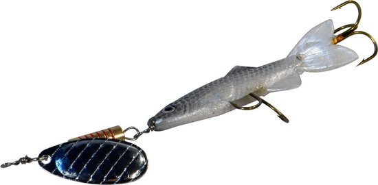 Albatros Follow - Bigfish Spinner - Bladmaat 3 - Roach