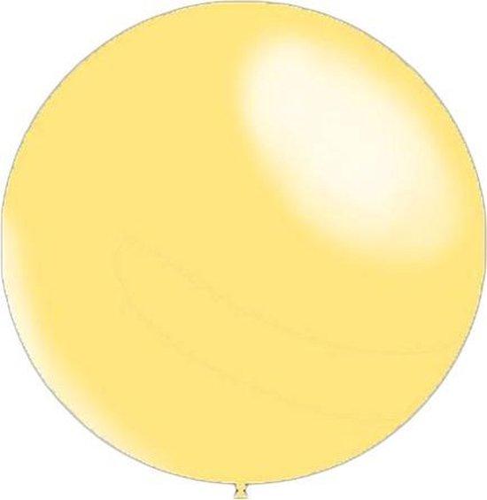 100 stuks - Metallic decoratieballonnen ivoor 28 cm professionele kwaliteit