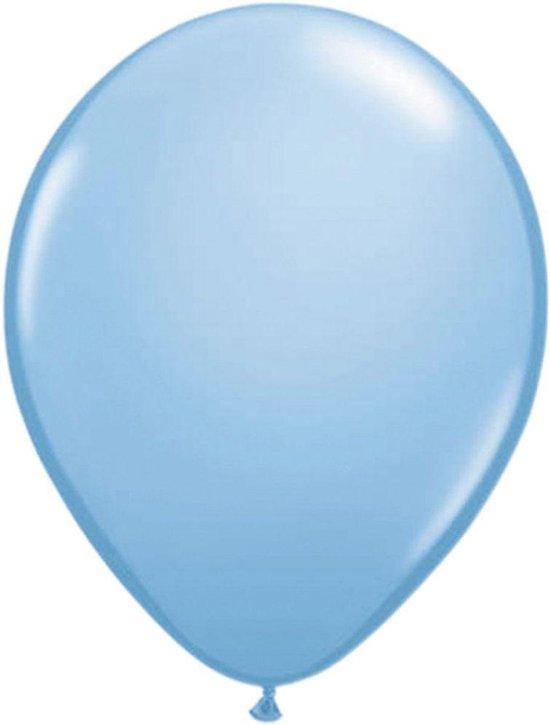 Donkerblauwe ballonnen 13cm 20 stuks