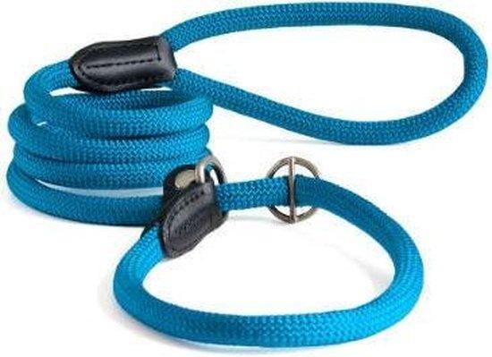 Hunter Retrieverlijn met Stop Freestyle - 8 mm x 170 cm - Turquoise